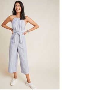 Anthropologie Chilmark Linen Jumpsuit